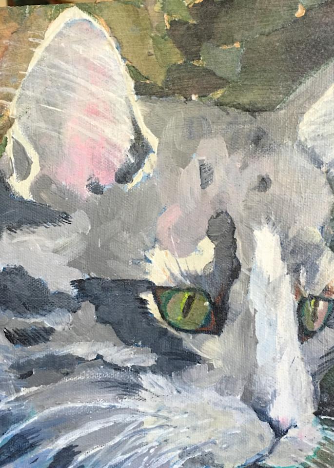 Camo Kitty Art | PoroyArt
