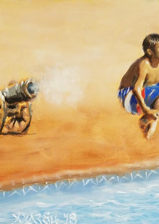 Cannonball Fine Art Print