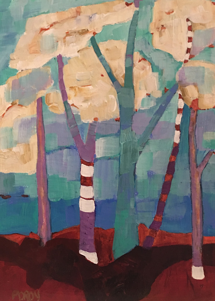 Cloud Trees3 Art | PoroyArt