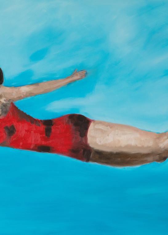 The Diver fine art print