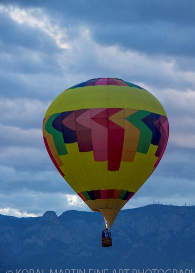 Albuquerque Balloon Fiesta Photograph 3056   New Mexico Photography   Koral Martin Fine Art Photography