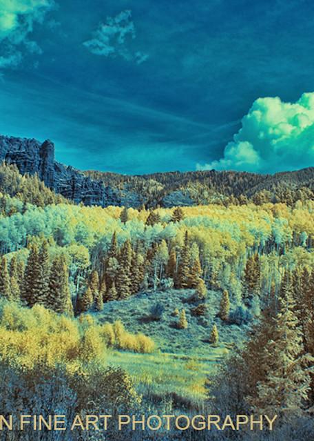 Infrared Aspen Evergreen Mountains 6374 V2    Photograph | Infrared  Photography |  Koral Martin Fine Art Photography