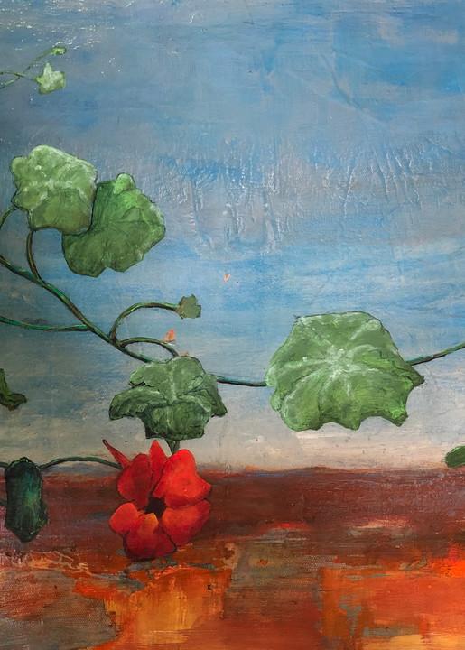 Bloom Where You Are Planted Art | PoroyArt