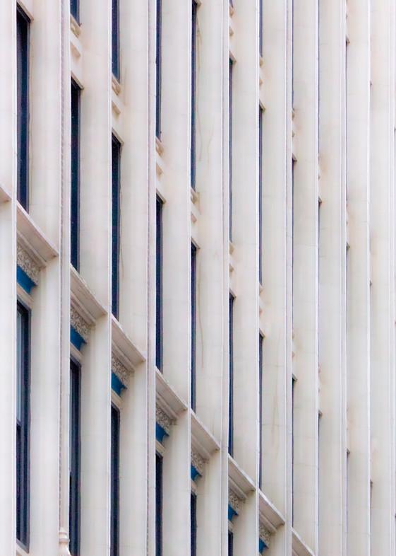 Jasa Fine Art Gallery | 5675 VERTICAL BUILDING WHITE By Jasa