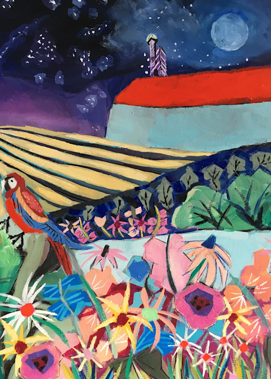 Mohonk with Birds | Susan Slotnick | Roost Artist
