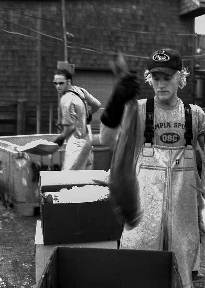 Jeff Adams Photography - PolaPan Series - RI Trap Boat - Ice Pack