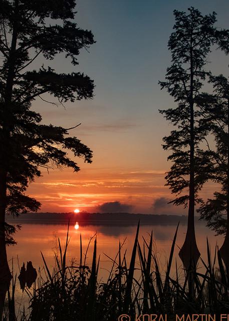 Sunrise Reelfoot Lake Photograph 0380   Tennessee Photography   Koral Martin Fine Art Photography