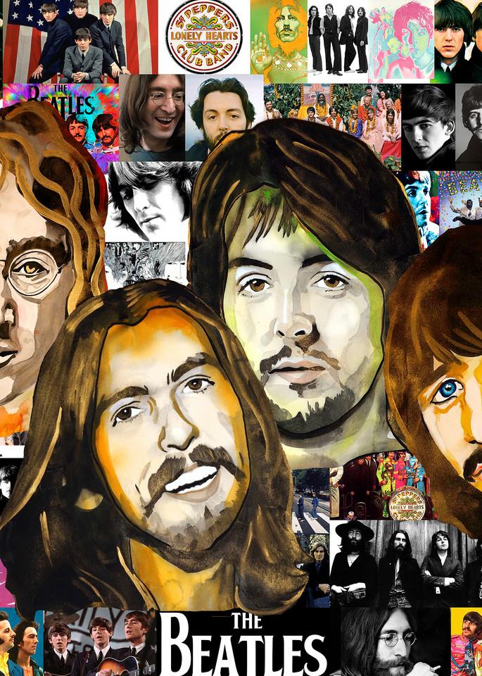 Beatles Pop 2 Art   William K. Stidham - heART Art