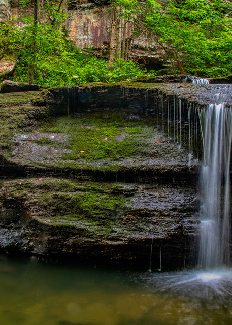Cloudland Canyon waterfall photography print