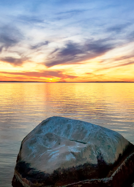 Great Rock Areial Art | Michael Blanchard Inspirational Photography - Crossroads Gallery