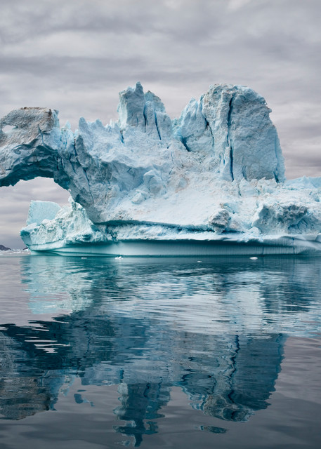 Ice Arch on Sermilik Fjord