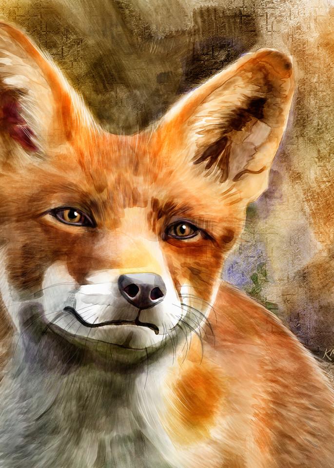 Scarlett The Fox Art | Pendragon Art Studios
