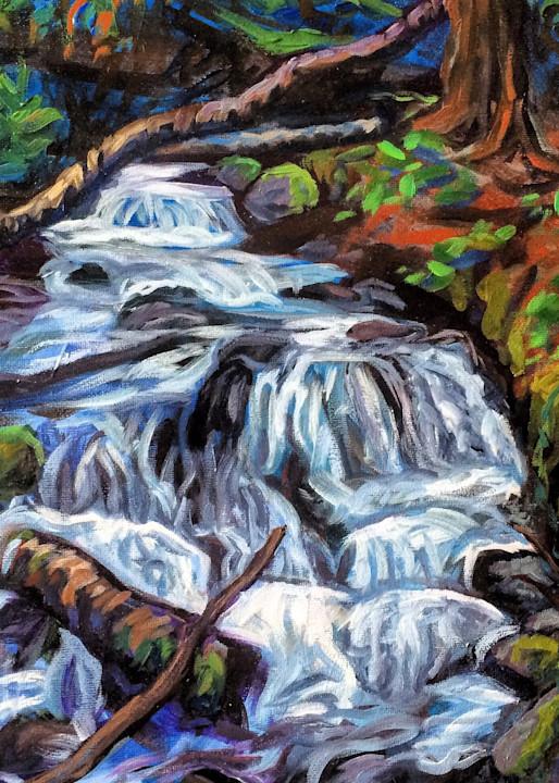 Rainbow Peak Trail Alaska art print - Amanda Faith Thompson