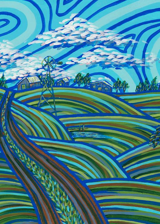 Midday At Grandma's Art | a.dawn art