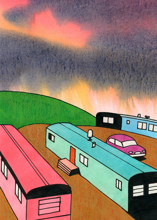 Mobile Homes Without Wheels Art | Fine Art New Mexico