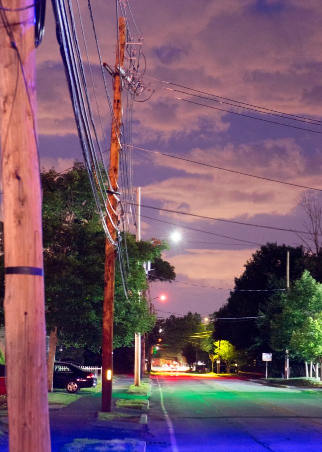Ashland Streetlights: View Down Pleasant Street
