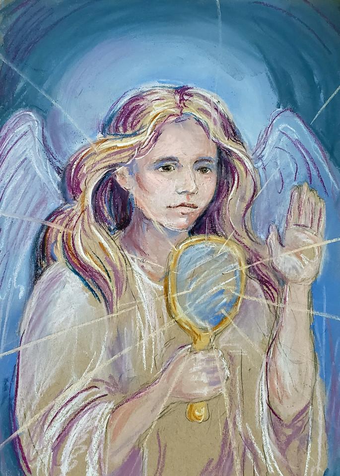 Amethyst Angel Print