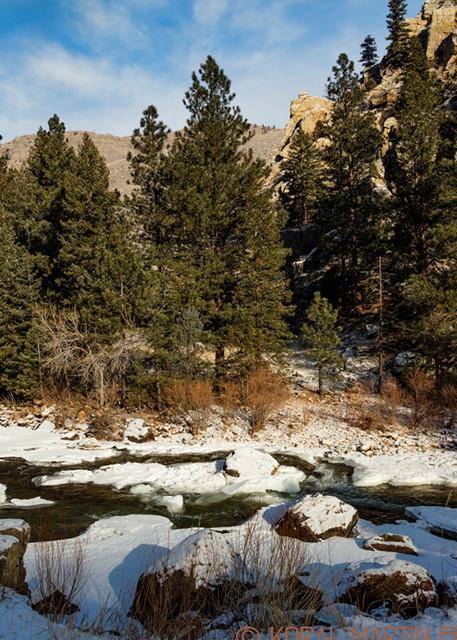 Cache La Poudre Canyon Scenic Drive Photograph 9405   Colorado Photography   Koral Martin Fine Art Photography