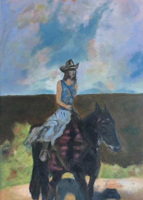 Lone Rider Print
