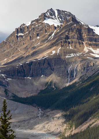 Peyto Glacier Photography Art | OurBeautifulWorld.com