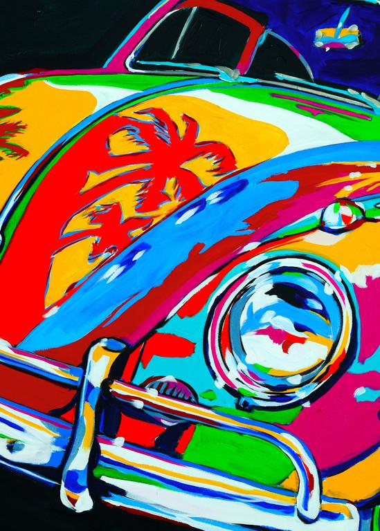 Beach Bug Art | Telfer Design, Inc.