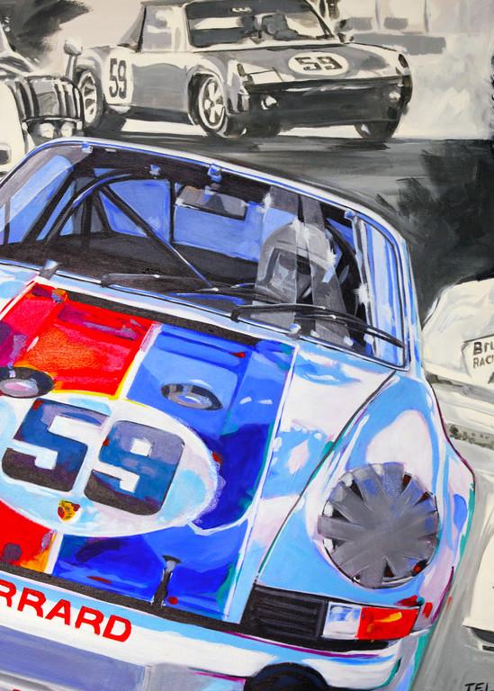 Hurley Haywood   Champ Art | Telfer Design, Inc.