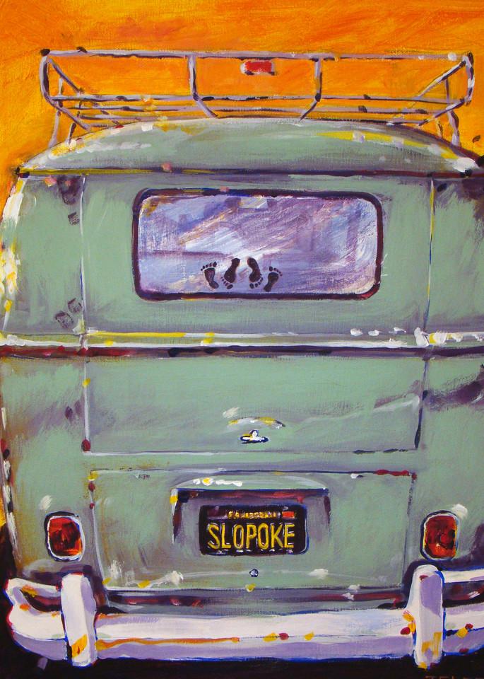 Slopoke Vw Bus Art | Telfer Design, Inc.