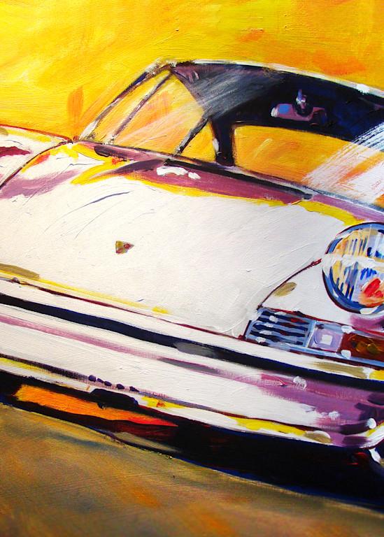 White Early 911 Art | Telfer Design, Inc.