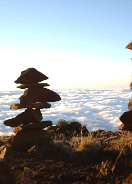 Haleakala Cairns Photography Art | Brian Ross Photography