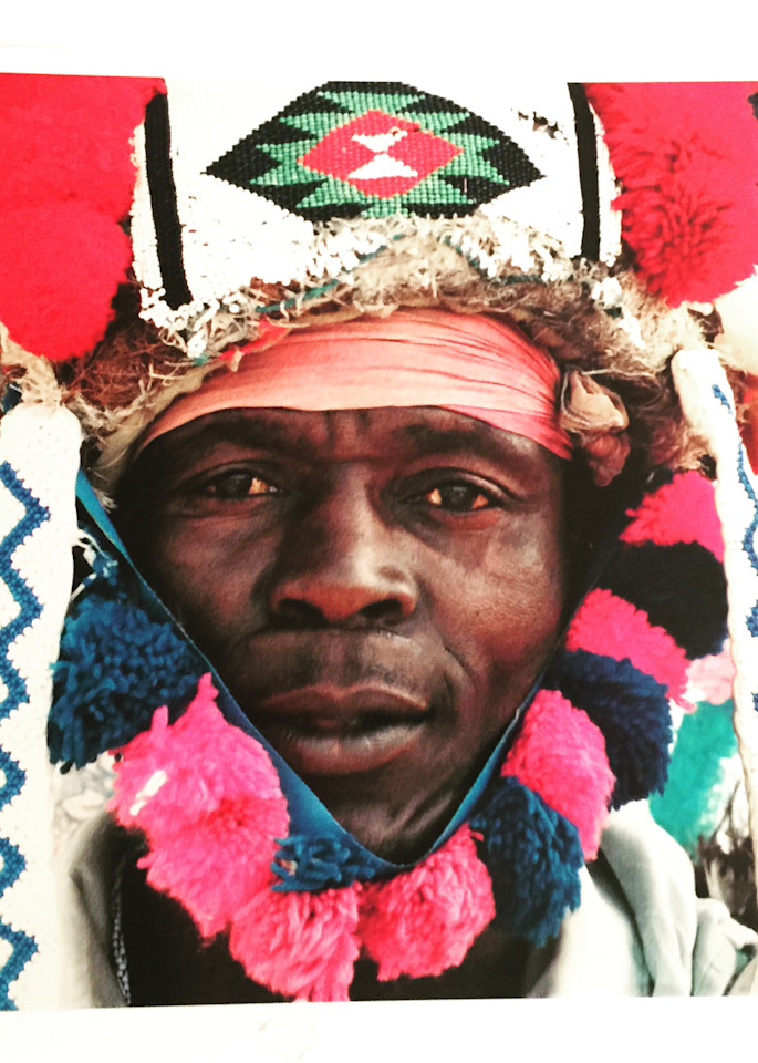 Zulu Richshaw Driver. Durban, South Africa Photography Art | Brian Ross Photography