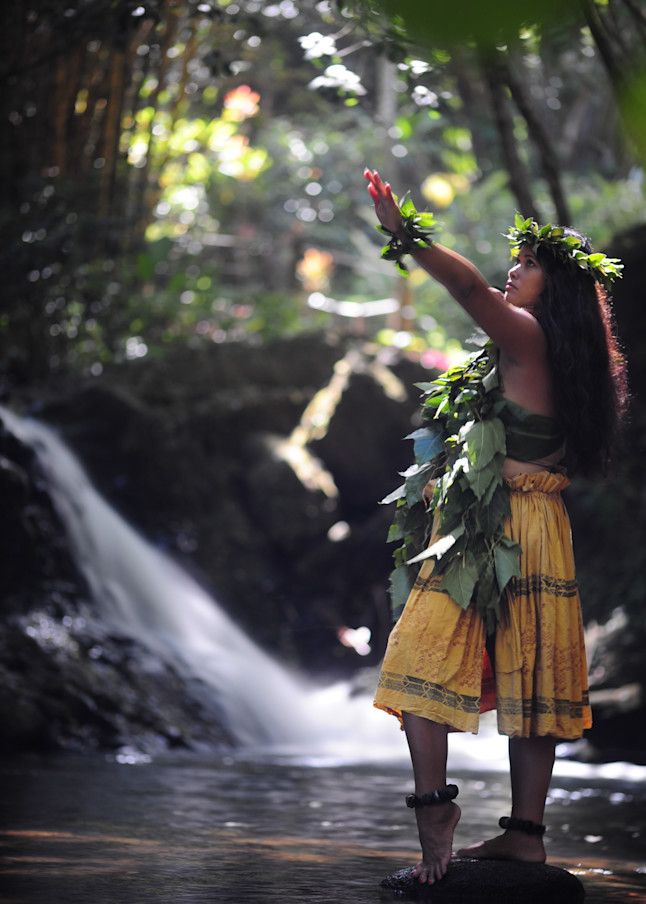 Wahine    Onomea, Hawaii Photography Art   Brian Ross Photography