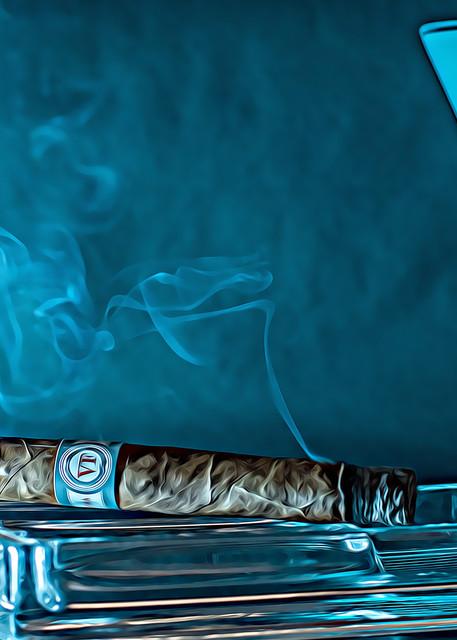 Blissful Blue Art | Artist David Wilson