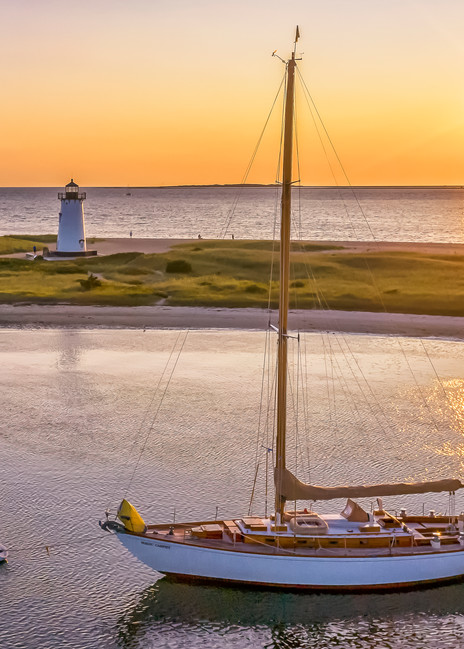 Edartown Harbor Summer Sunrise Art | Michael Blanchard Inspirational Photography - Crossroads Gallery