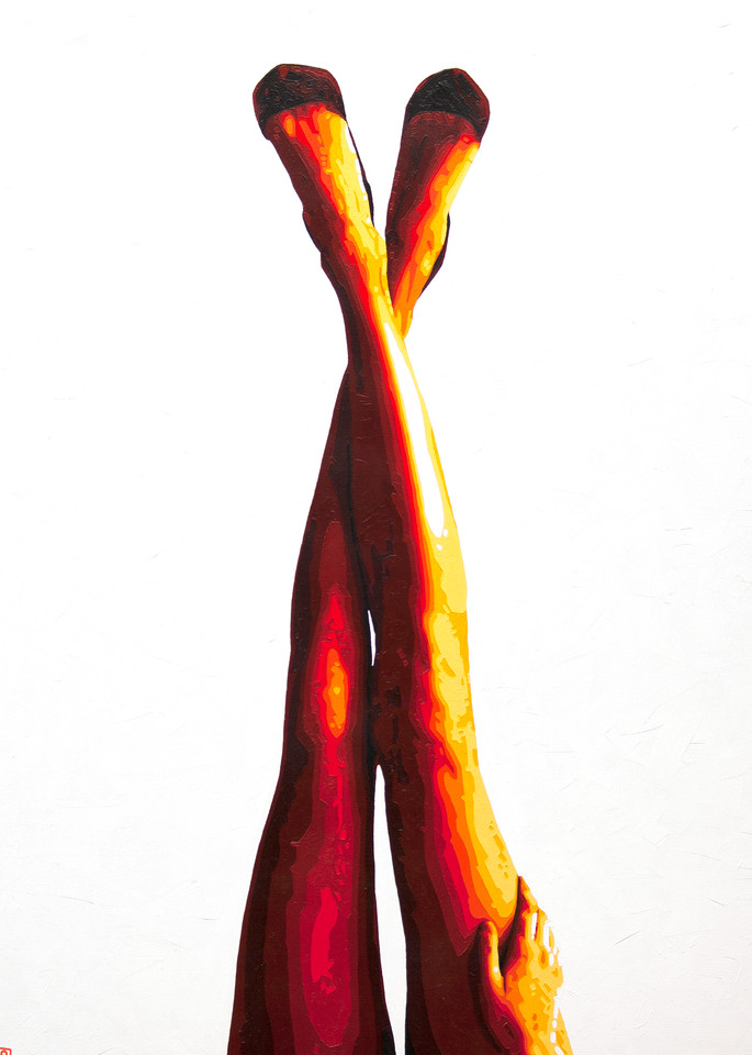 Legs For Days Print Art   Todd Monk Art