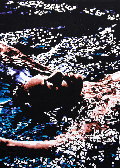 The Night Swimmer Print Art | Todd Monk Art