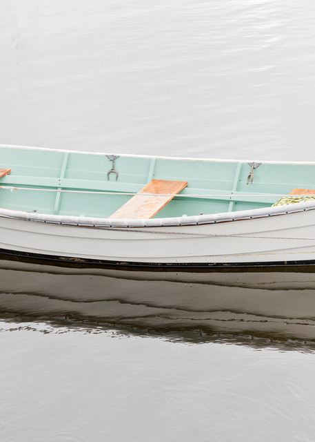 """Barrington Harbor Dory"" Large Scale Nautical Wooden Boat Fine Art Photography"