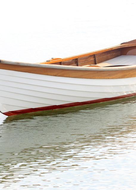 """Vineyard Haven Skiff"" Large Format Martha's Vineyard Nautical Fine Art Photograph"