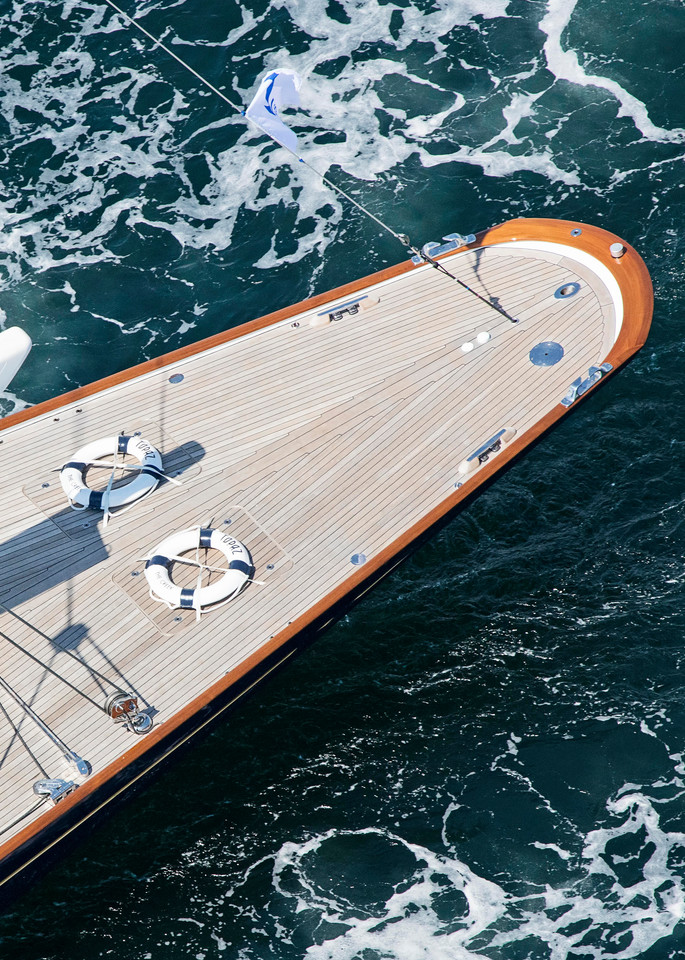"""J8 Topaz Stern"" Newport RI J Class Yacht Photography"
