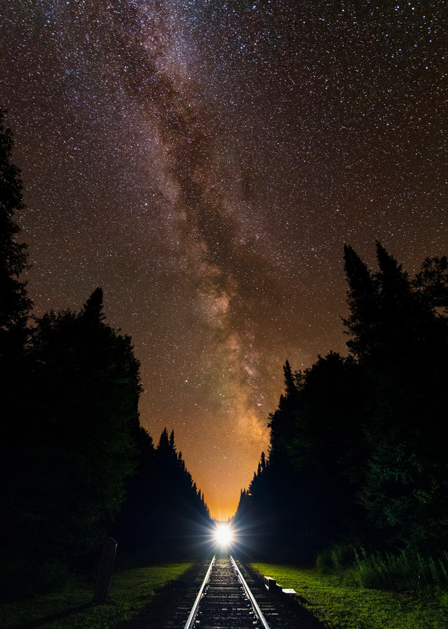 Milky Way Over Adk Rr Photography Art | Kurt Gardner Photogarphy Gallery