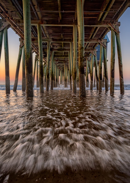 Under the Pier at Old Orchard Beach   Shop Photography by Rick Berk