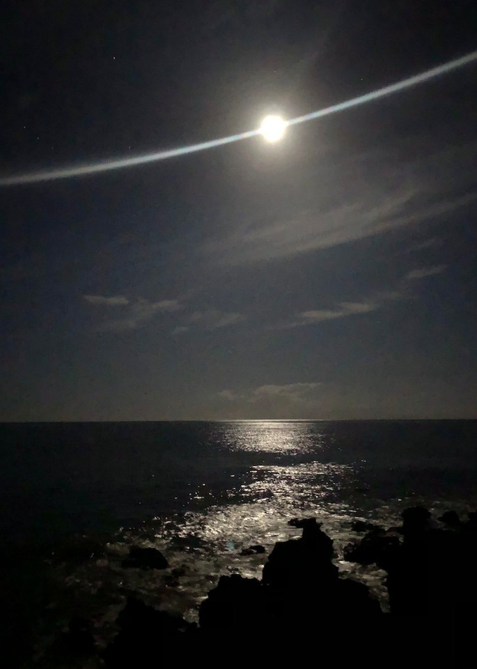 Moonlight On The Sea Photography Art | Brian Ross Photography