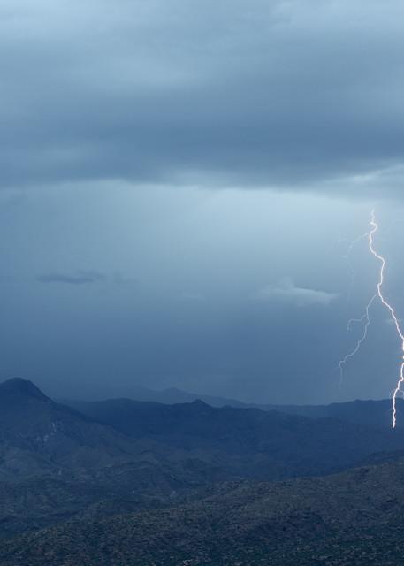 Lightning on the Bradshaws