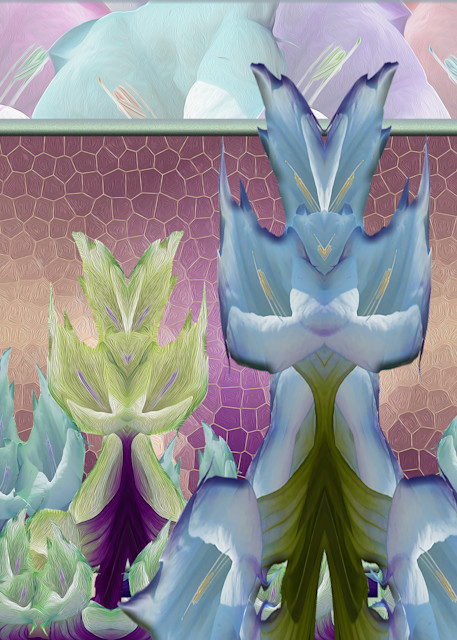 Datura Dream, print of photograph of a Sacred Datura, New Mexico for sale as digital art by Maureen Wilks