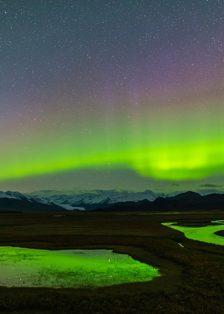 Maclaren River Valley Aurora Photography Art | Ray Bulson Photography