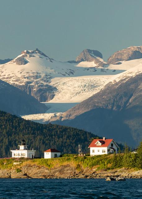 Point Retreat on Admiralty Island in Southeast Alaska. Summer. Evening.
