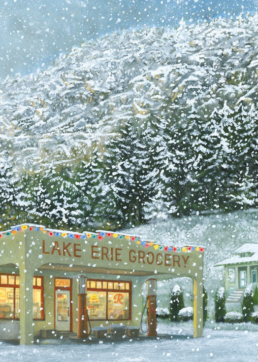 Barb Schwulst - Lake Erie Store - Frosted