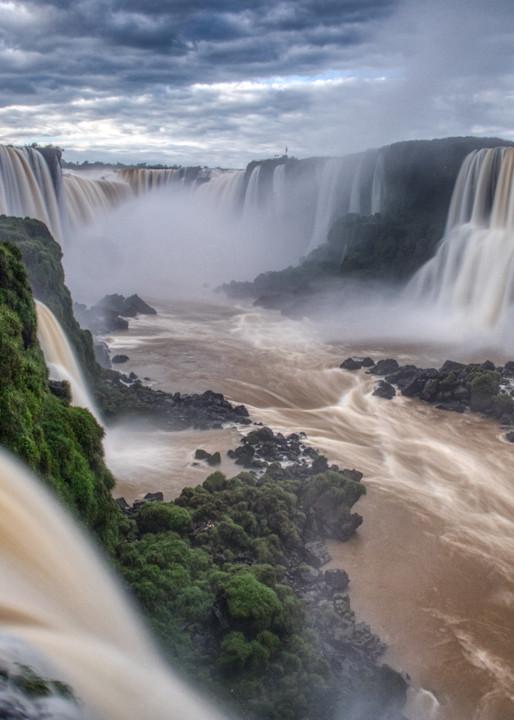 Mighty Iguassu Falls Photography Art | Peter Batty Photography