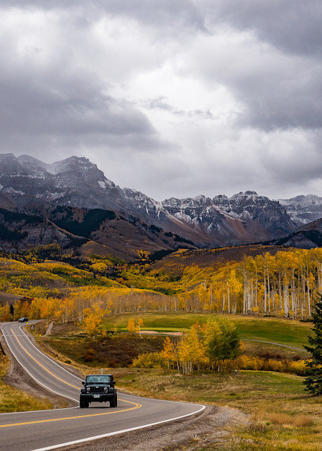 Mountain Village In The Fall Photography Art | Peter Batty Photography