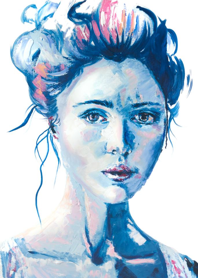 Vulnerable (Print Reproduction) Art | Becca Fox Art