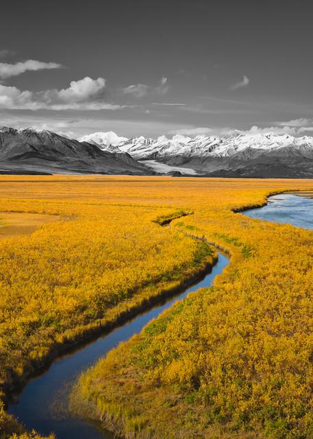 Maclaren Valley   Selective Color Photography Art | Ray Bulson Photography